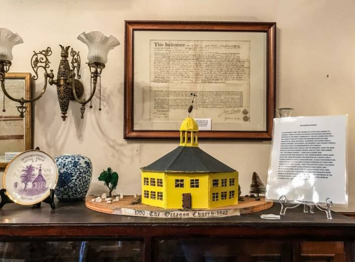 The Octagon Church 1796   Little Falls Historical Society Museum   Little Falls NY