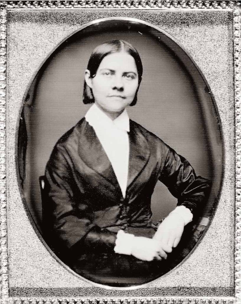 Lucy Stone (1818-1893), Library of Congress | Little Falls Historical Society Museum