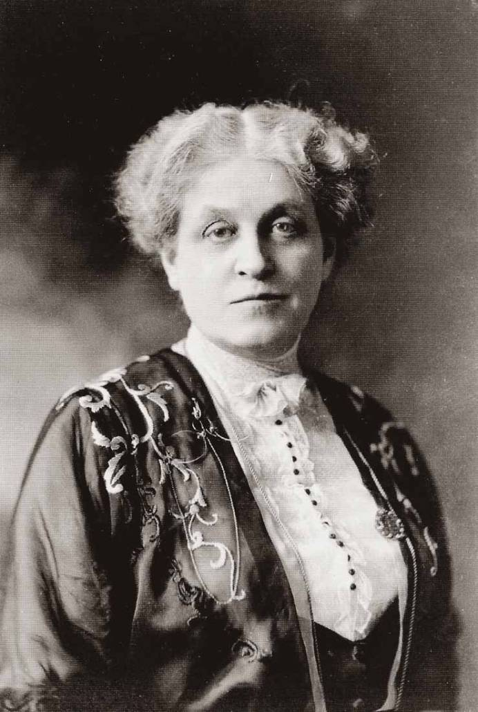 Carrie Chapman Catt (1859-1947), Library of Congress | Little Falls Historical Society Museum