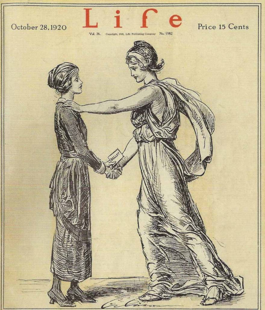 Life cover of October 28, 1920 issue, Library of Congress | Little Falls Historical Society Museum