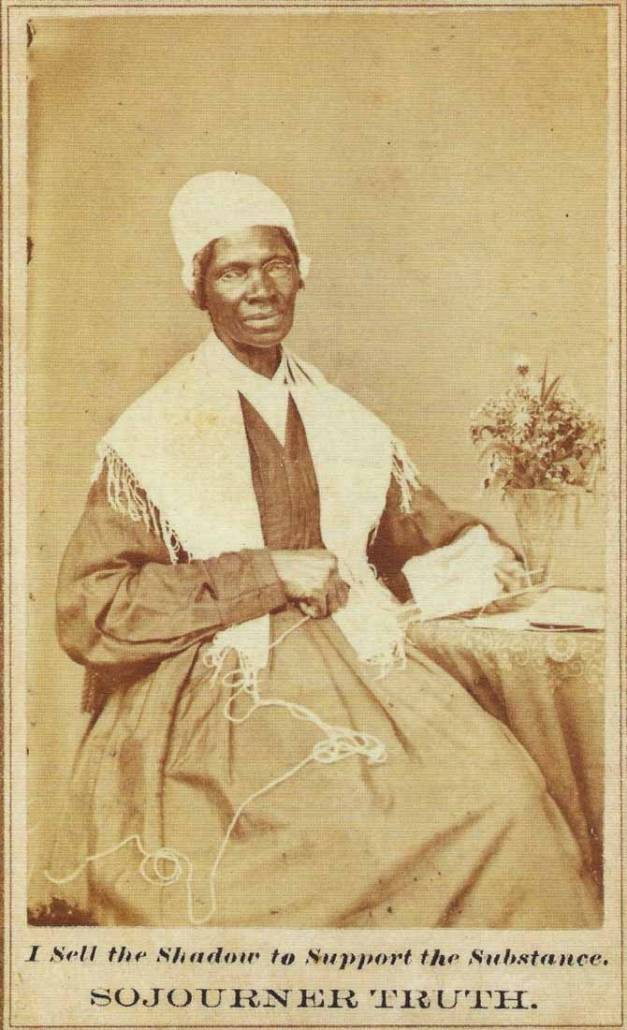 Sojourner Truth (c. 1797-1883), Library of Congress | Little Falls Historical Society Museum