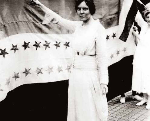 Alice Paul (1885-1977), Library of Congress | Little Falls Historical Society Museum