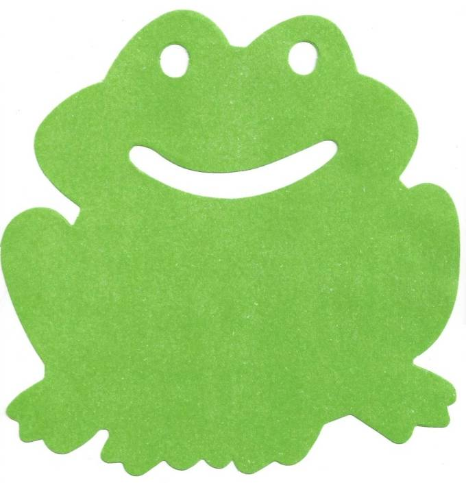 Frog cutout | Little Falls Historical Society Museum