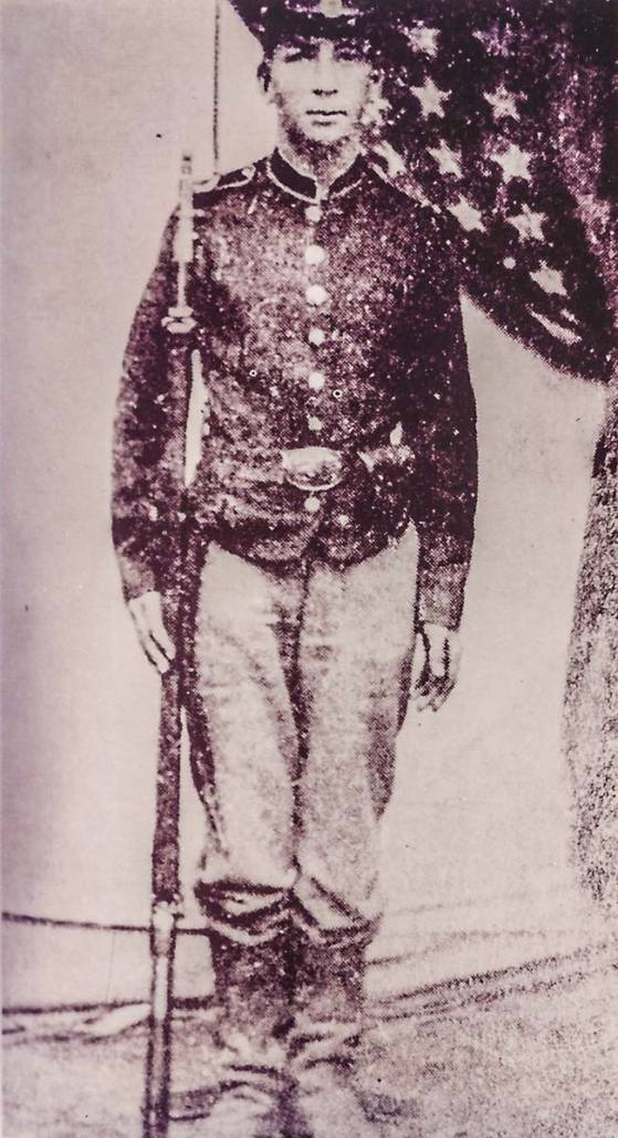 Private Clinton Beckwith of Herkimer