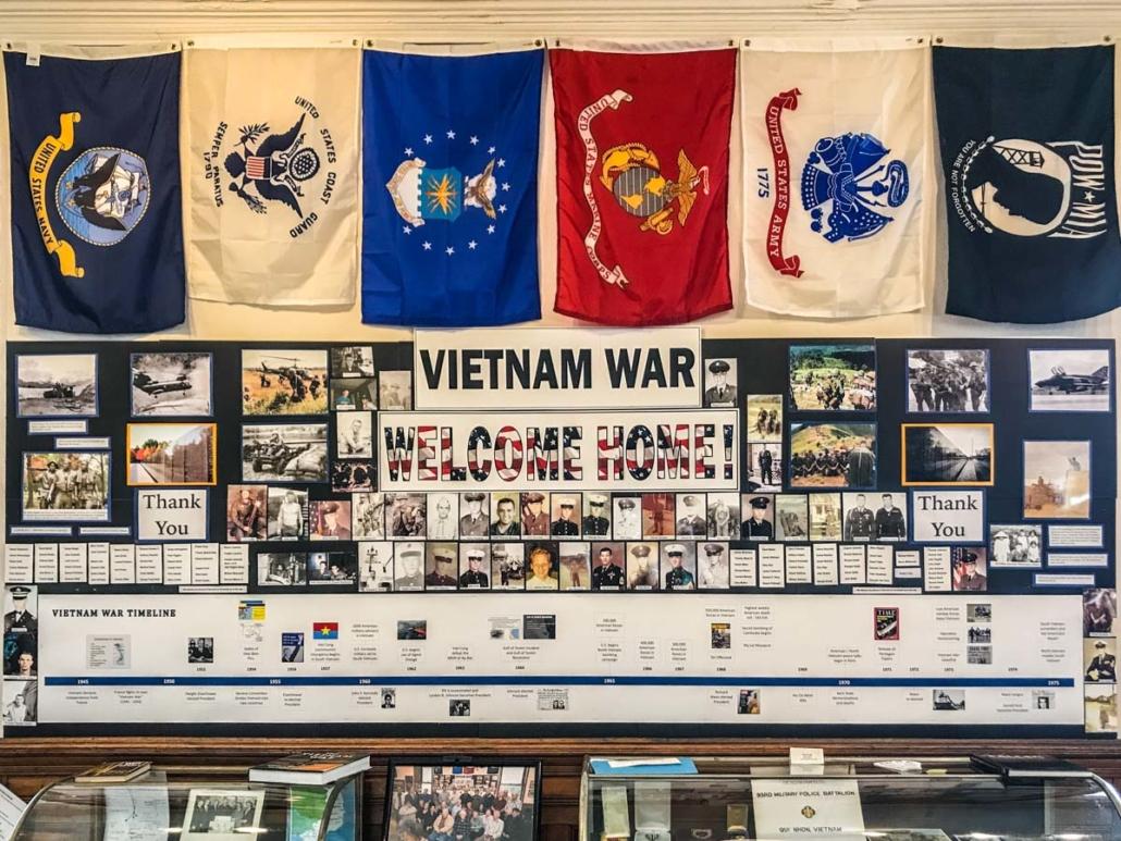 Vietnam War Exhibit  Little Falls Historical Society Museum   Little Falls NY