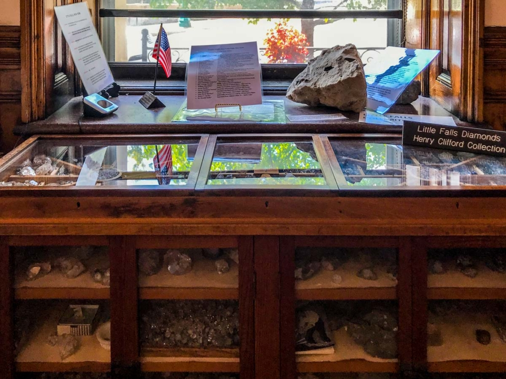 Little Falls Diamonds Exhibit | Little Falls Historical Society Museum | Little Falls NY