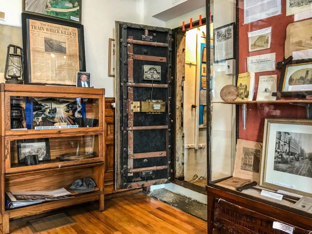 Bank Vault | Little Falls Historical Society Museum | Little Falls NY