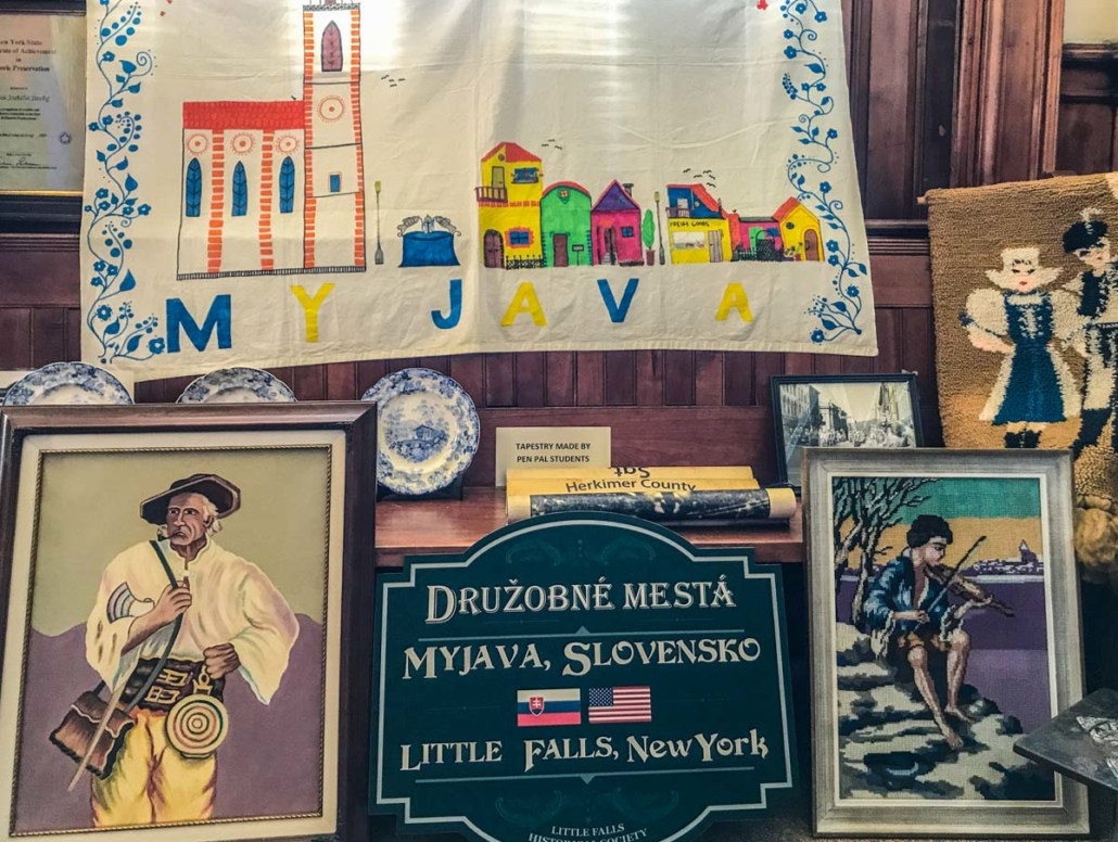 Myjava Exhibit | Little Falls Historical Society Museum | Little Falls NY