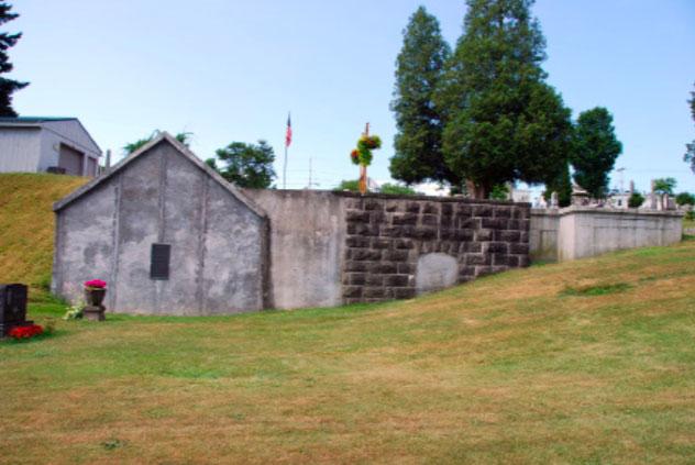 Church Street Cemetery Vault   Little Falls Historical Society Museum