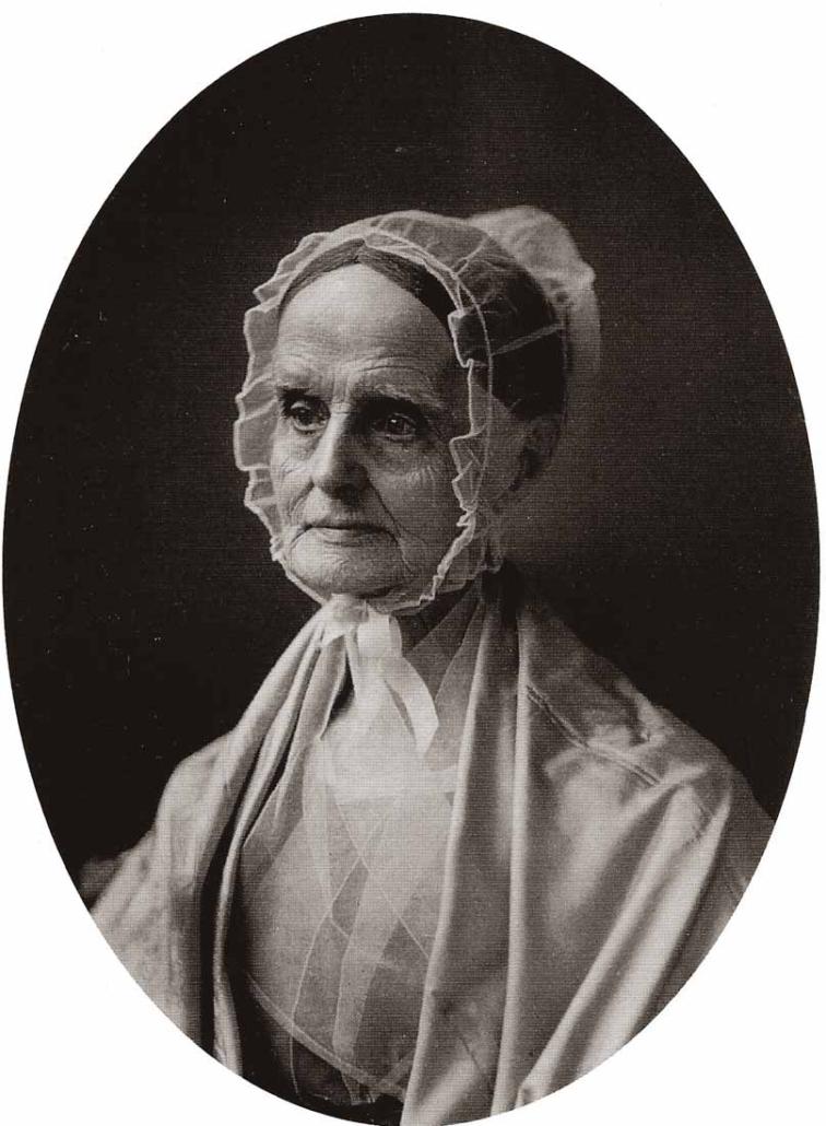 Quaker minister Lucretia Mott (1793-1880), Library of Congress | Little Falls Historical Society Museum