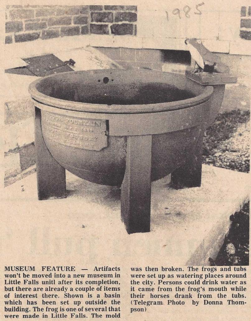 The Evening Telegram, April 29, 1985, Herkimer-Ilion, New York, Telegram photo by Donna Thompson.